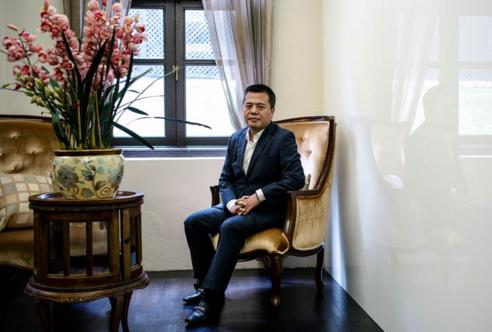 陈天桥受彭博社专访:要和前半生的自己告别