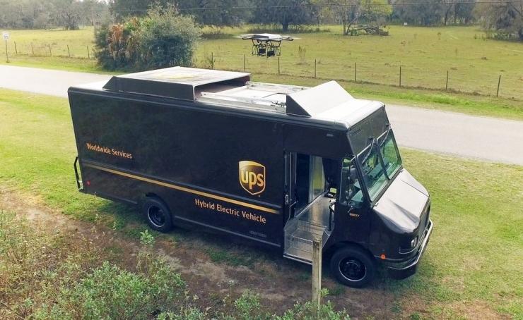 UPS的无人机快递布局:把无人机当做一种「基建」