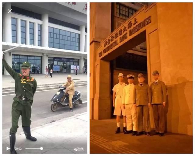男子穿侵华日军服装摆拍 军报怒斥:不能容忍!