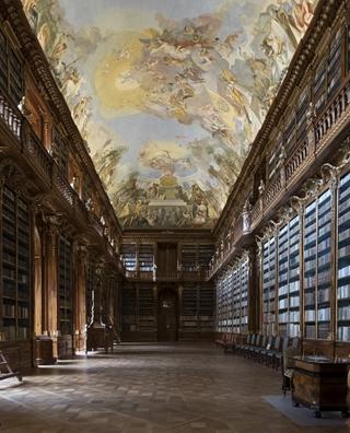 """""""世界最美图书馆"""" 斯特拉霍夫修道院"""