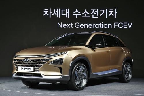 现代明年推出燃料电池SUV 续航超580公里