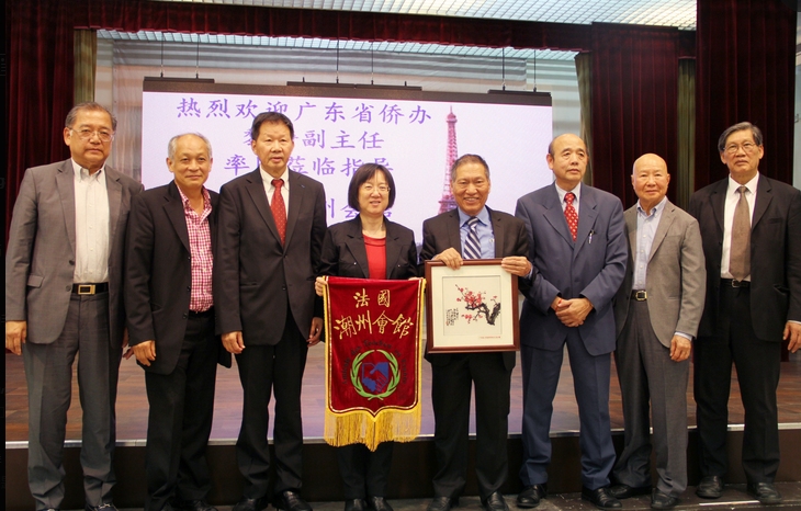 广东省侨办代表团走访法国潮州会馆 座谈共话融入发展