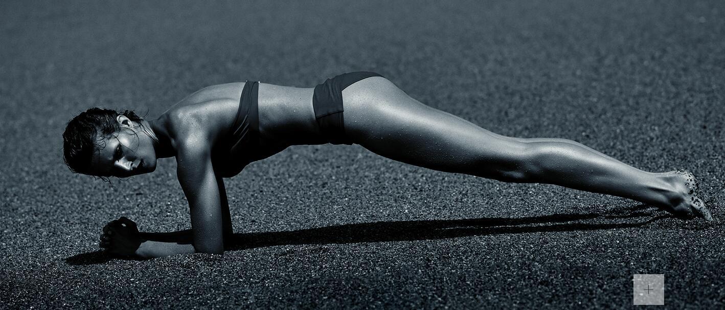 想减腰缩腹?法媒细数12个理由让你爱上平板支撑