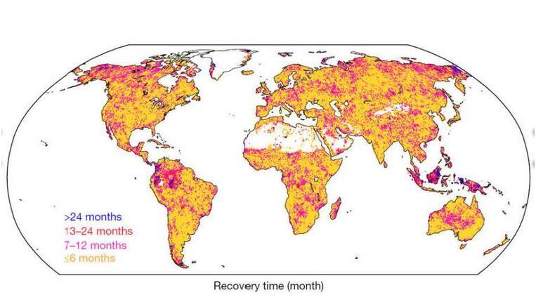 美研究:世界上部分地区或将永久干旱