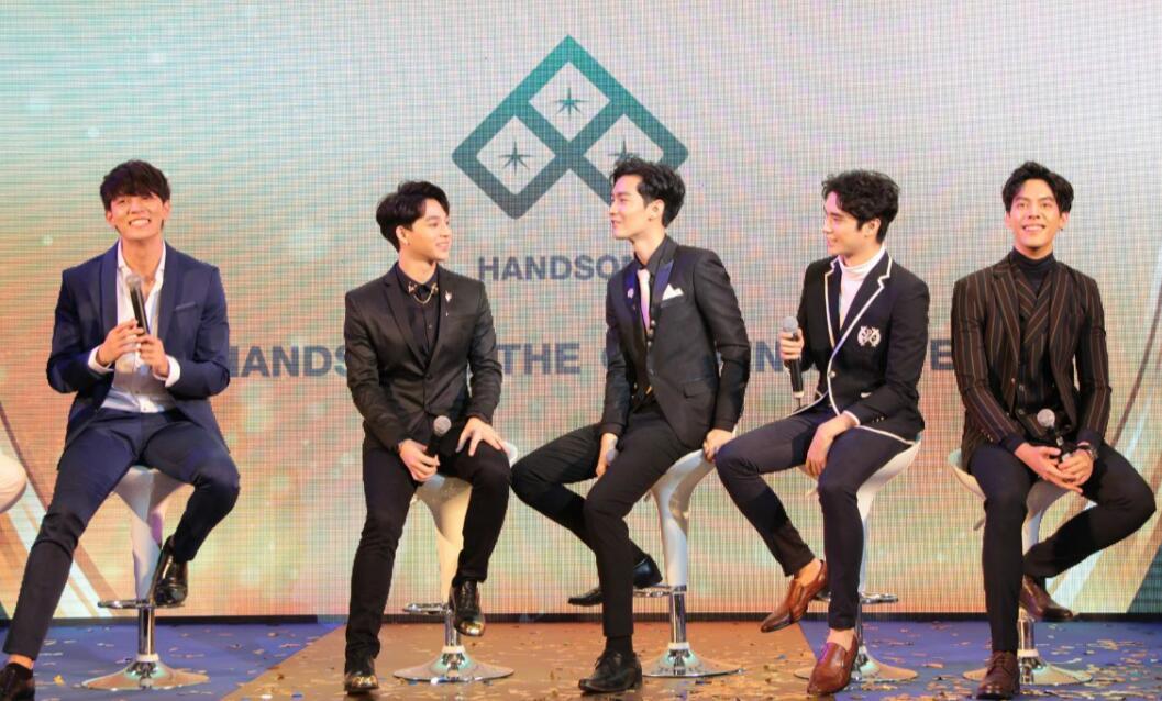 全明星阵容出席汉森娱乐三周年盛典 开拓中泰两地娱乐
