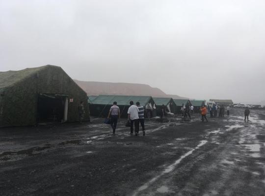 山西和顺吕鑫煤业抢险救援现场发现4名遇难者遗体