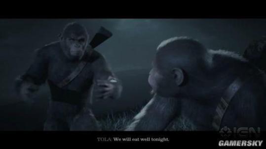 《猩球崛起》游戏公布 今秋登陆PC和主机