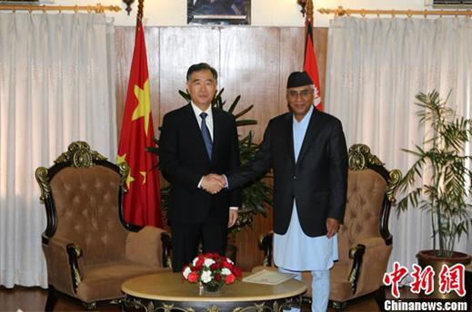 尼泊尔总统:绝不允许任何势力利用尼领土反华