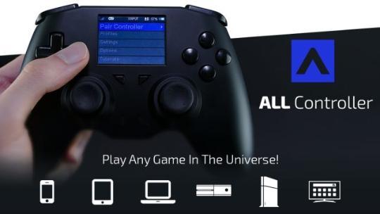 能连所有游戏机的万能手柄 带着它玩遍天下