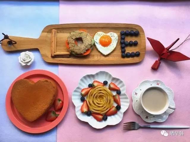 晒早餐 | 陪伴是最长情的告白,这些早餐都是爱的见证