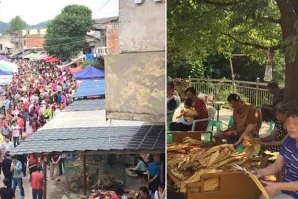 小山村避暑涌进3万人 场面爆过大景区