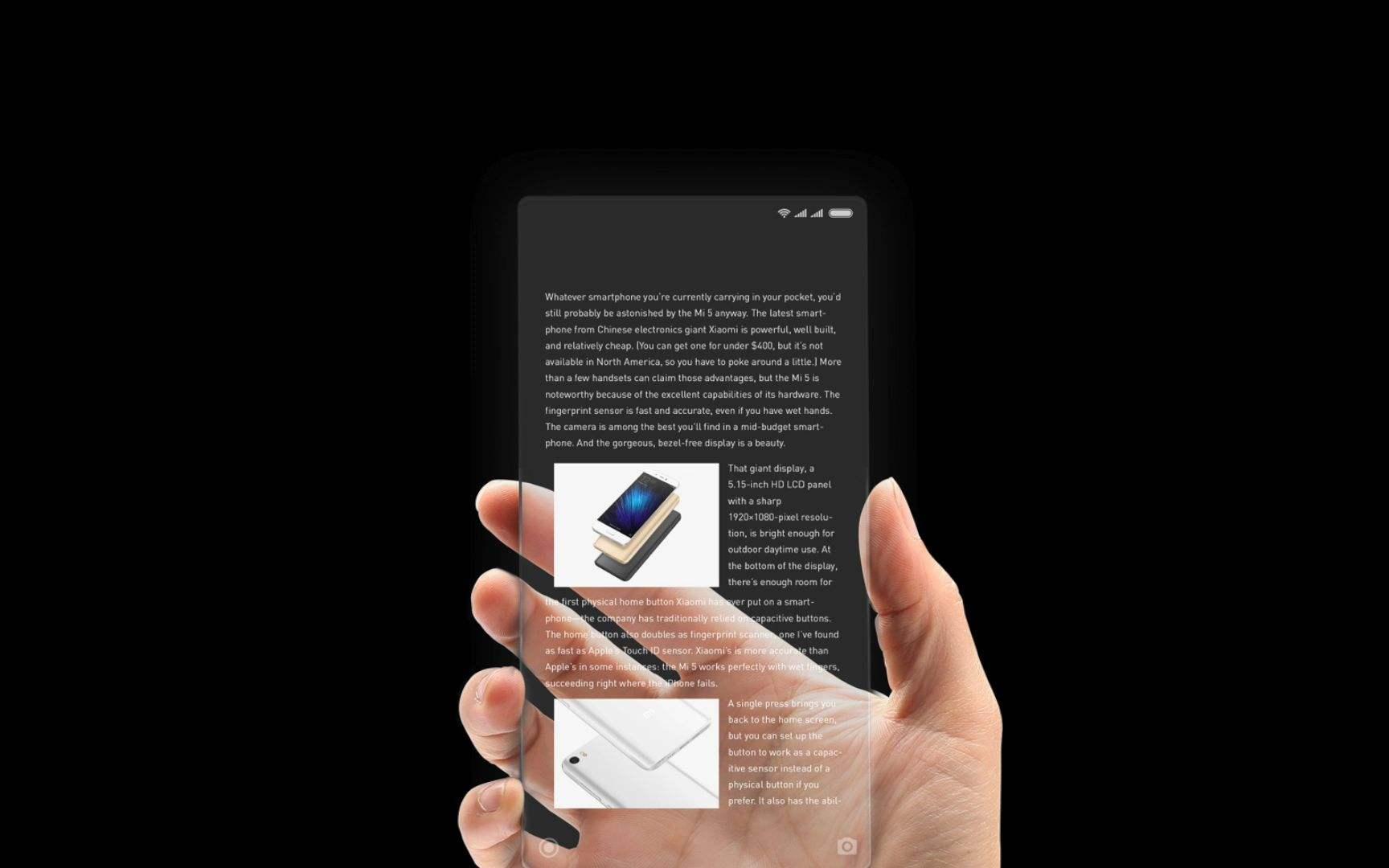 无需等iPhone 8!目前在售的全面屏手机大盘点