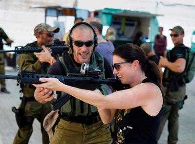 恐怖袭击成观光宣传噱头? 以色列设反恐体验营一年吸引2万多人