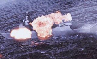 台湾发布雄风-3导弹宣传片 妄想击毁大陆052D舰