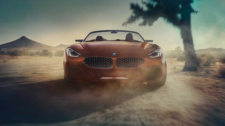 宝马全新Z4概念车发布 全新设计极富冲击力