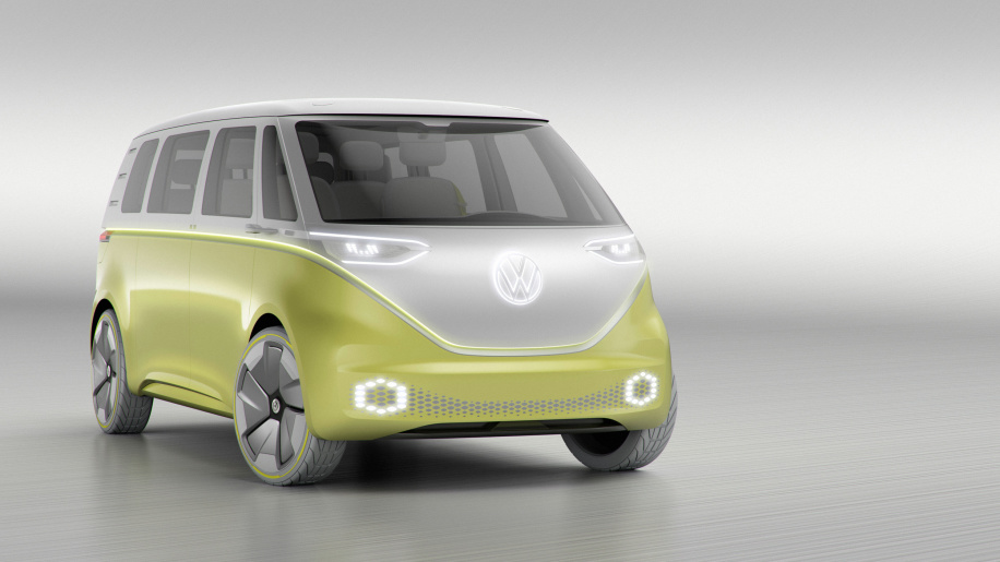 大众I.D. Buzz电动微面量产版有望2022年发布