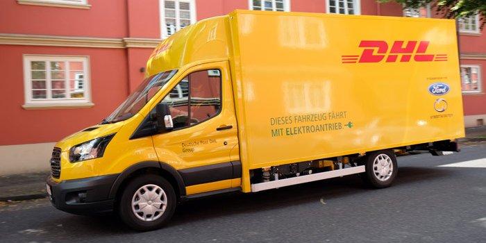 福特与DHL联合 基于全顺推出纯电动货车