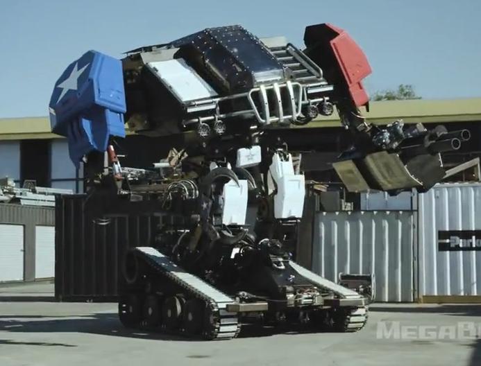 科技雷不撕: Eagle Prime 机器人登场 9月将大战