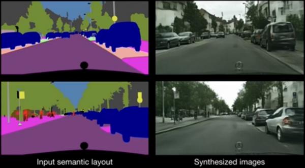 Intel秀黑科技:人工智能从照片中构建虚构场景