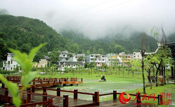 贵州印江:乡村美景入画来百姓日子富而乐
