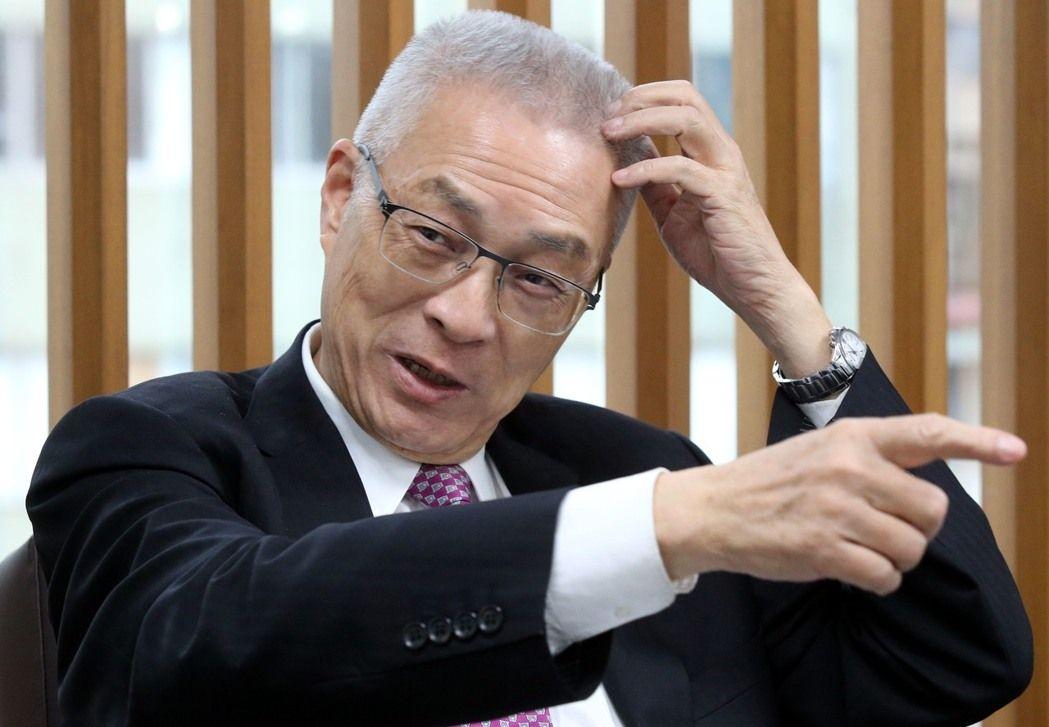 郁慕明称与国民党理念已不同 吴敦义:不希望分手