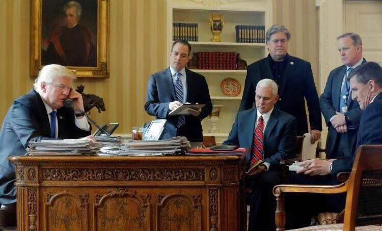 """白宫""""生死斗""""? 特朗普上任7个月后,幕僚走光光"""