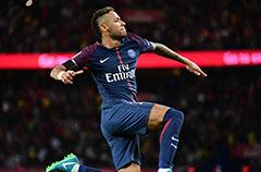 法甲-内马尔2传2射加造点 巴黎轻取3连胜