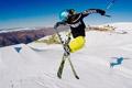当元气少女爱上滑雪