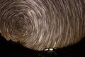 约书亚树国家公园星轨