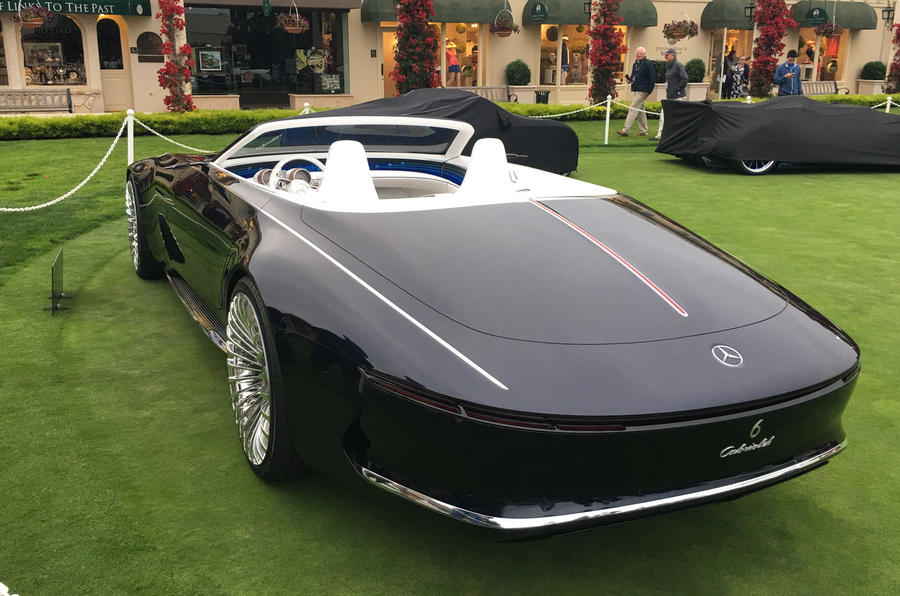 梅赛德斯-迈巴赫6 Cabriolet敞篷概念车亮相