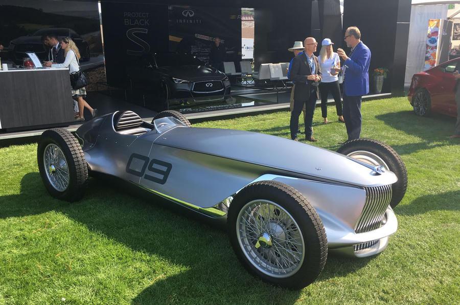 英菲尼迪Prototype 9复古电动概念车亮相 5.5秒破百