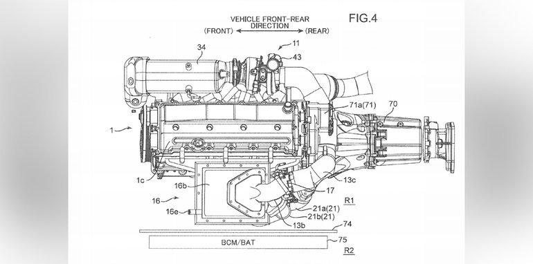 马自达引擎专利曝光:双涡轮结合电动增压器