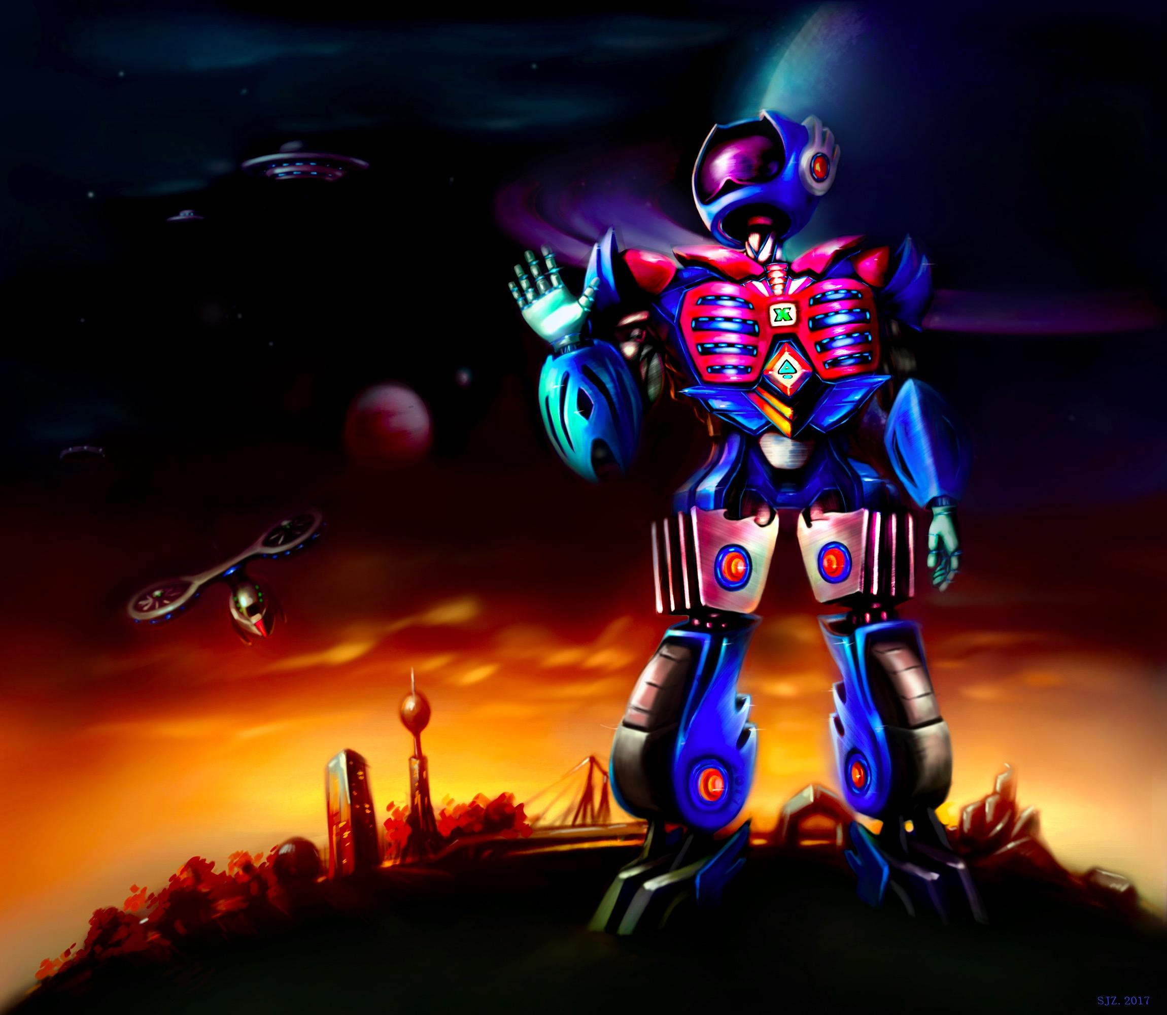 想·未来——我的世界网友作品:机器人Mordeace