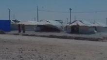 伊拉克突遇龙卷风 孩子被卷到空中后坠地