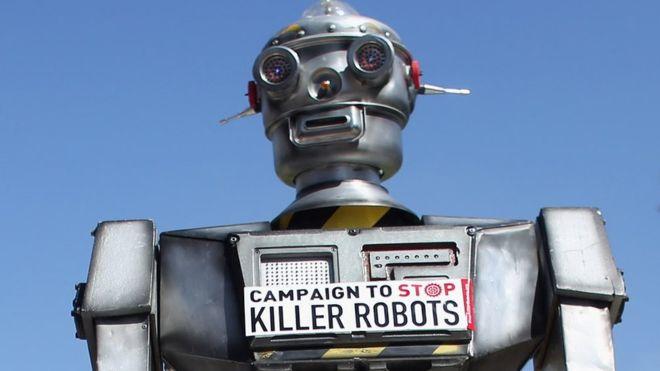 "AI专家联名上书 要求联合国禁止""机器人杀手"""