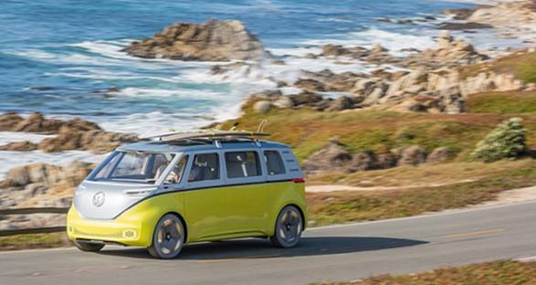 大众最新版电动多功能车将于2020年上路