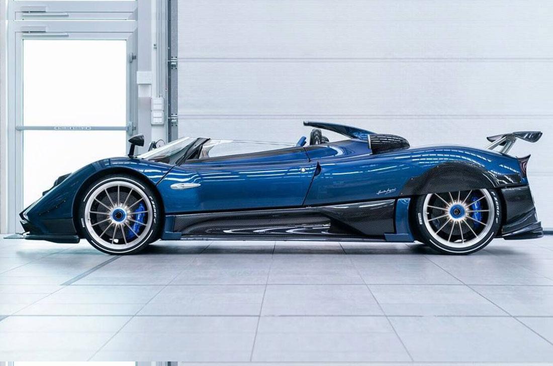 帕加尼Zonda HP Barchetta首发 全球仅3辆