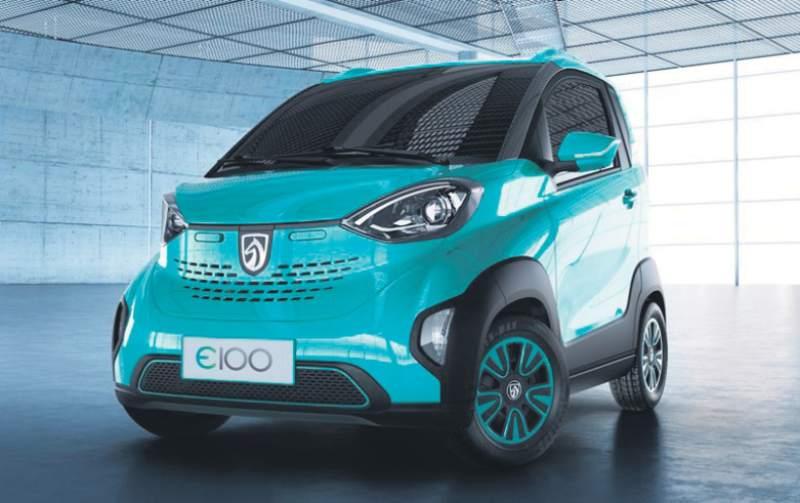 中国小旋风:宝骏E100电动微车订单超5000
