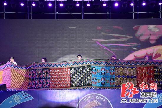 湘西州7县1市非遗精品成功申报世界纪录