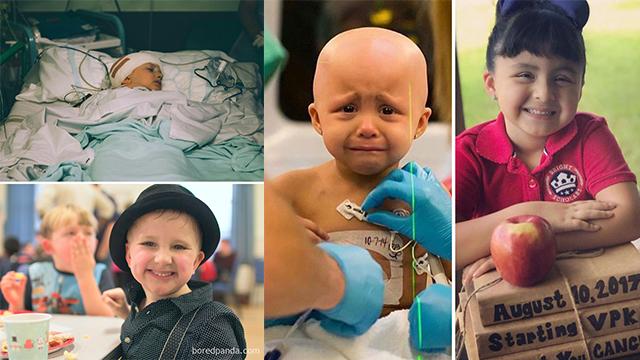 与癌症抗争胜利后,他们的变化惊人!