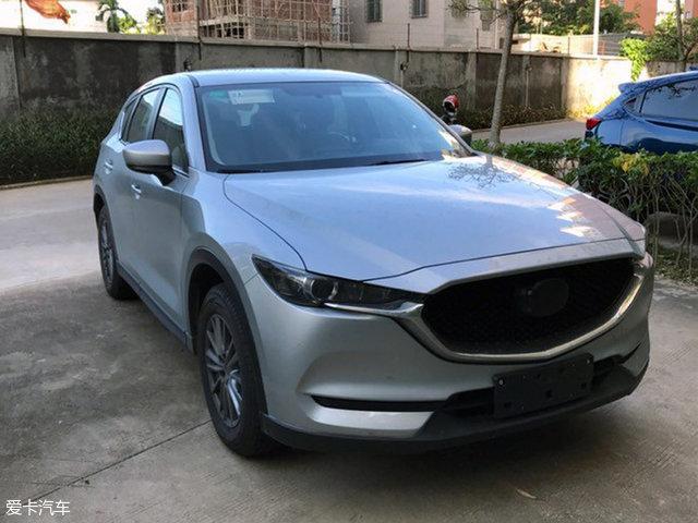长安马自达新一代CX-5实车照