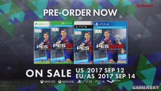 《实况足球2018》PC版首曝 战胜主机画质