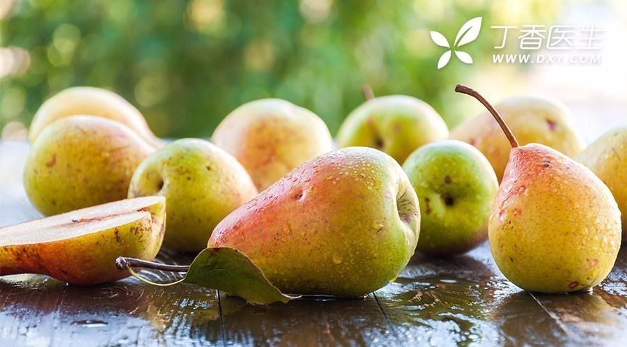 吃梨好处多,但有一种人不适合!健康吃梨有 4 个讲究