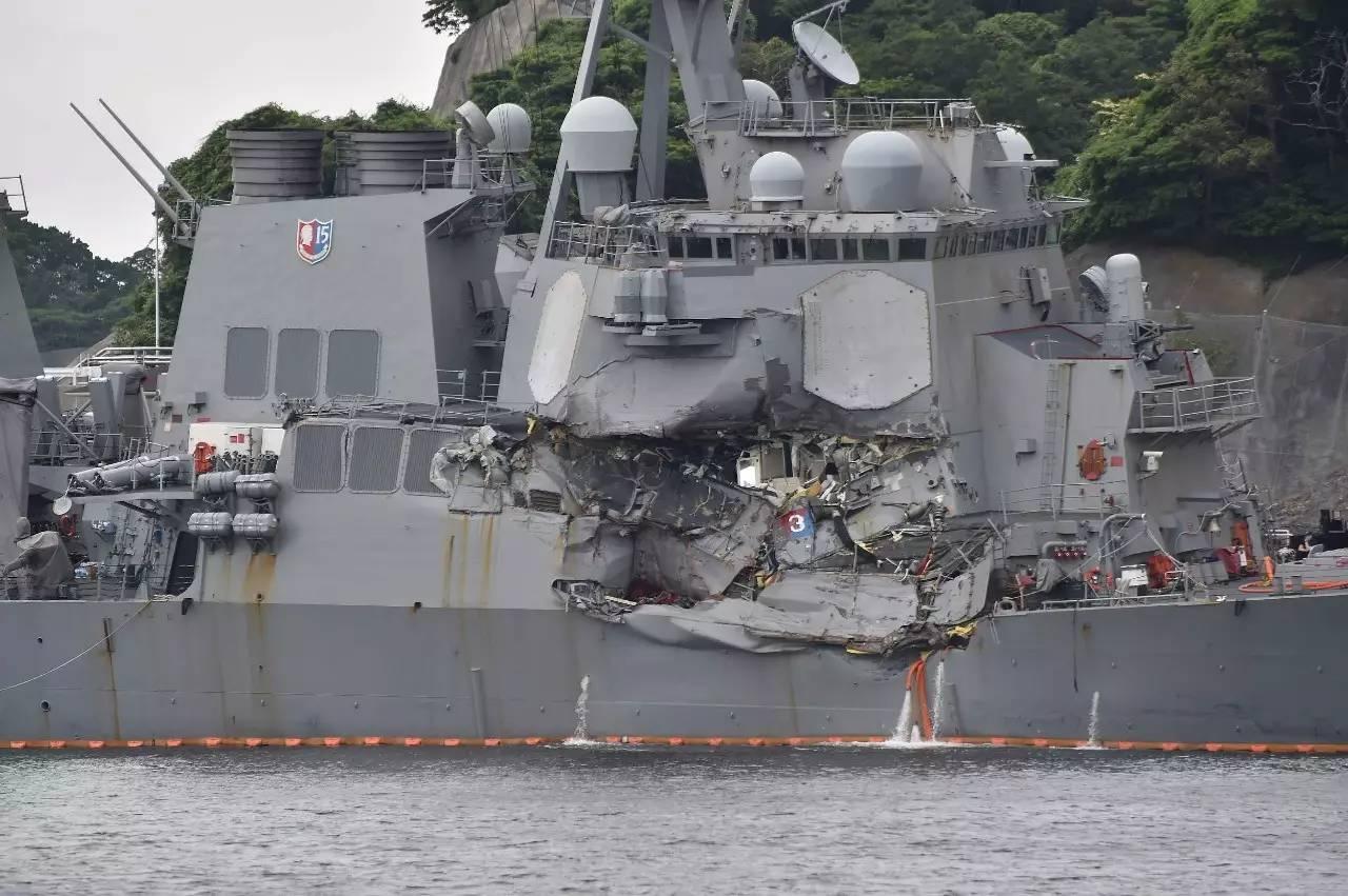 美海军暂停全球行动彻查事故 第七舰队或遭整顿