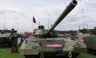 近距离感受俄罗斯最先进坦克