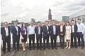 中德投资人士莱茵河畔谈合作