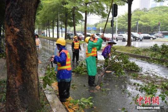 """台风""""天鸽""""将袭香港 天文台发出最高级十号飓风信号"""