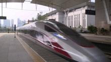 复兴号动车组在京津城际上线运行