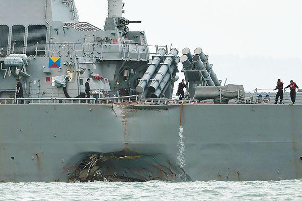 这也赖中国?美竟有人称军舰被撞或遭黑客攻击