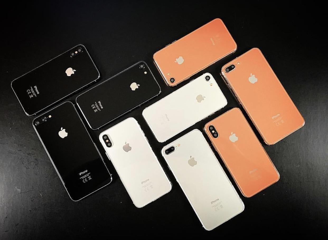 苹果iPhone 8或9月12日发布 入门版价格曝光